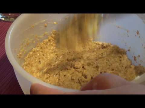 Weizenkleie Low Carb Brot selber machen in der Mikrowelle