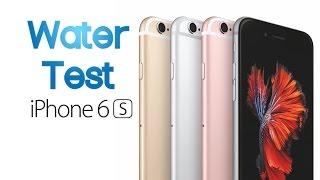 iPhone 6S y 6S Plus son contra el agua!