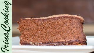 Необычный ШОКОЛАДНЫЙ ТОРТ (пирог, чизкейк) 🍰 Chocolate Cake (Cheesecake) ○ Ирина Кукинг