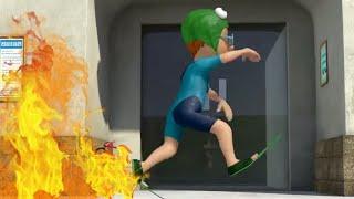 Strażak Sam ⭐️ Bieganie z wodnego ognia! Nowe odcinki | Kreskówki dla dzieci