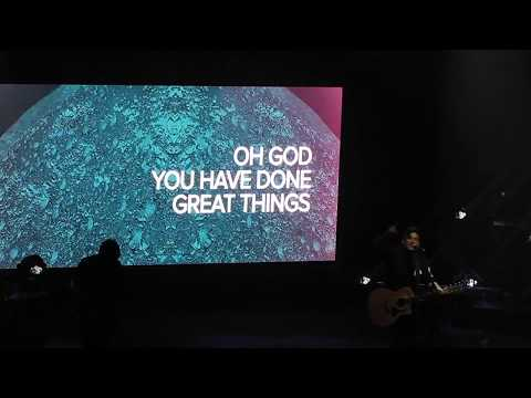 Phil Wickham - Great Things - at Los Angeles Ace Hotel's Theatre Aug. 3, 2018