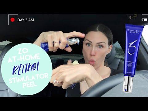 ZO At-Home Retinol Stimulator Peel Journey