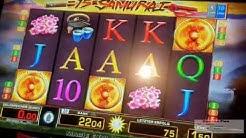 """😱 """"Casino Fun"""" Merkur - 15 Samurai ONLY mit Freispielen auf 2 € 😱"""