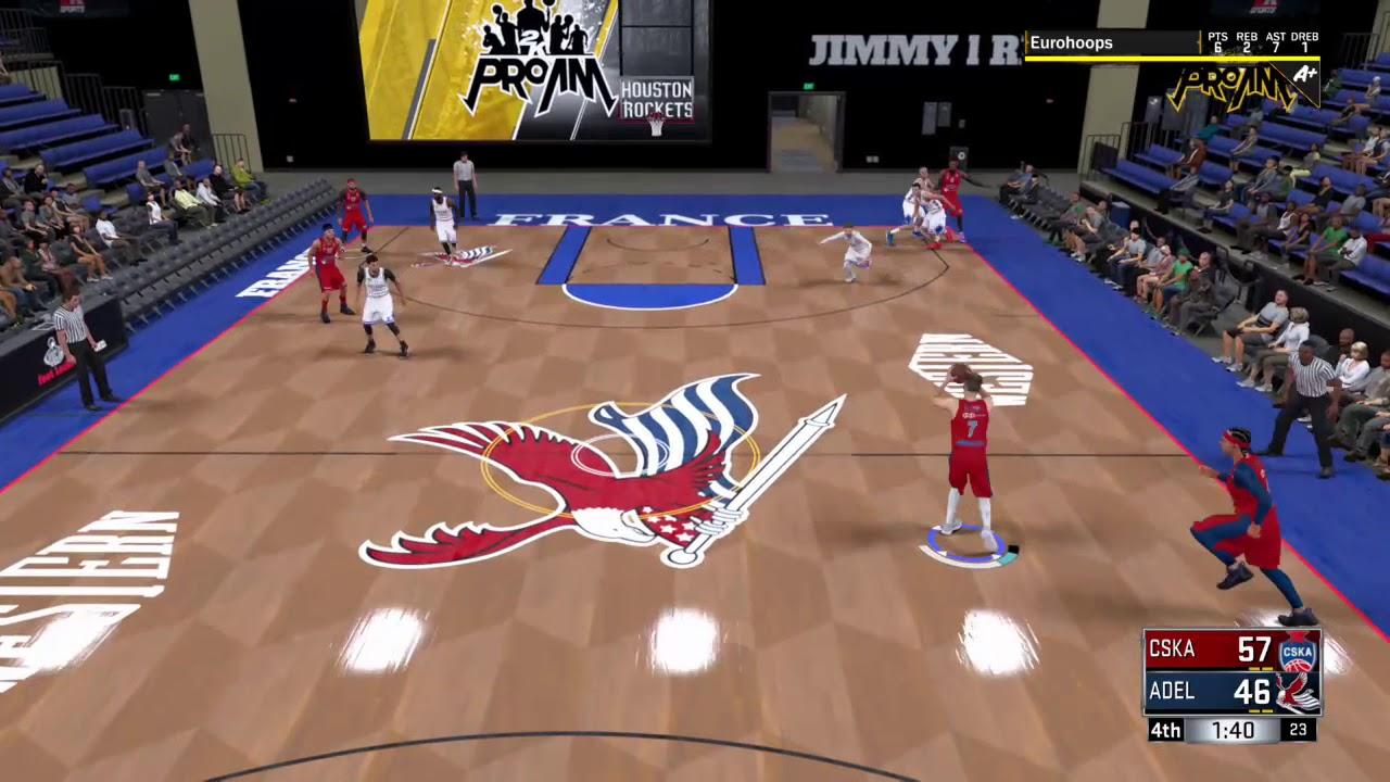 NBA 2K18 Ball movement 0006