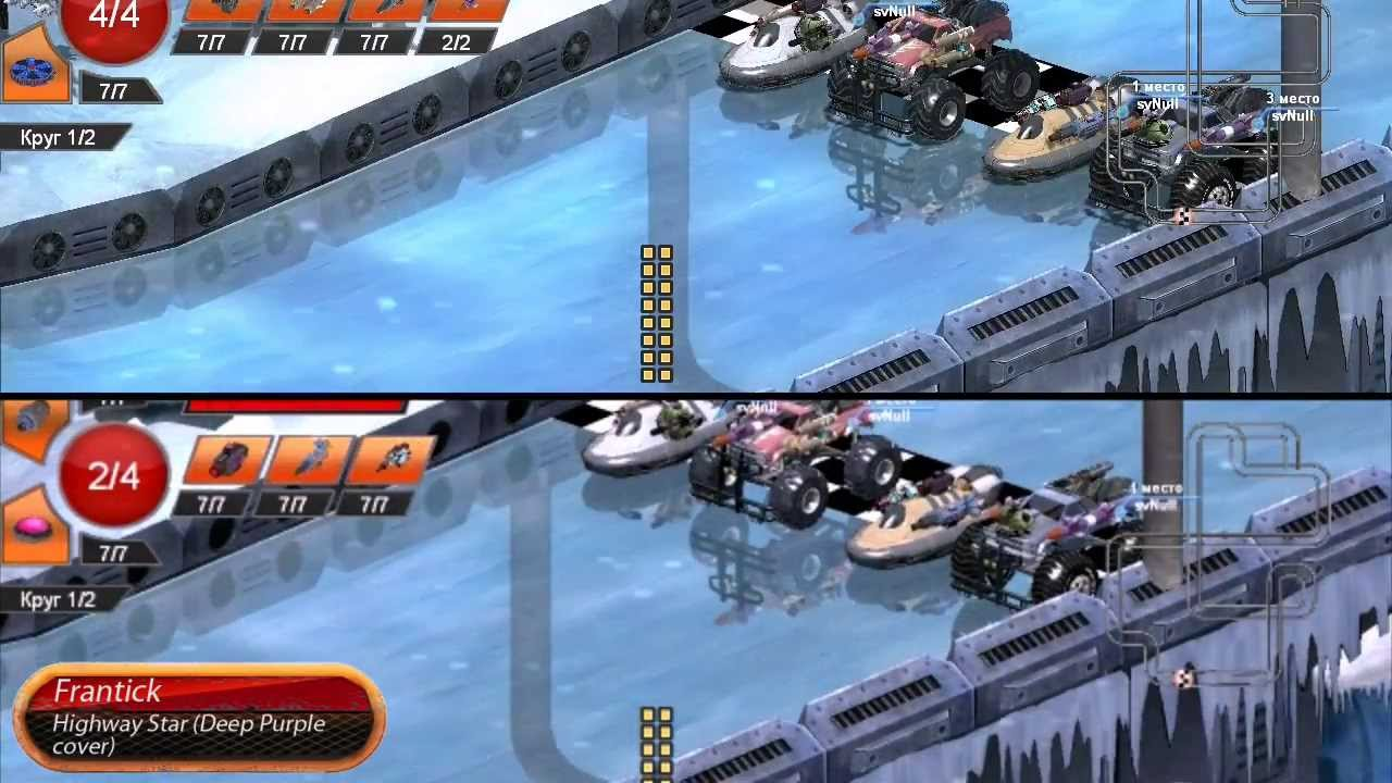 rocknroll racing 3d old multiplayer gameplay youtube