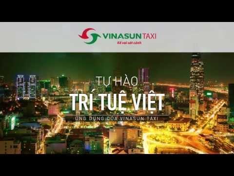 Ứng dụng Vinasun Taxi App - Tự hào Trí Tuệ Việt