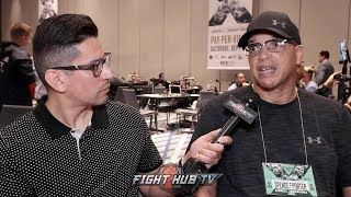 VIRGIL HUNTER ON WARD COMING BACK TO FIGHT CANELO -