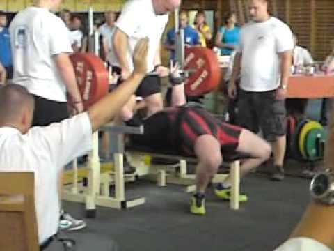 Sven Lange EM Bank 275kg