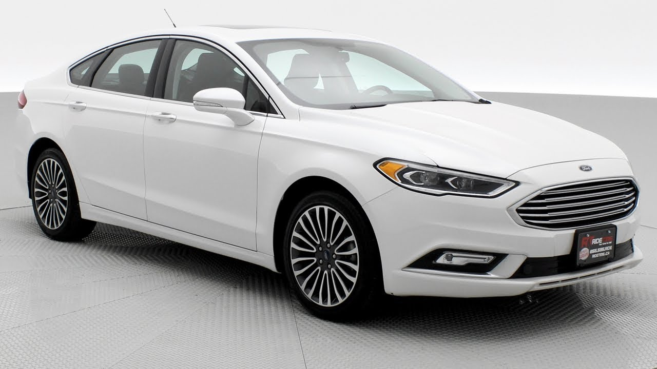 2017 ford fusion se awd w luxury package ridetime ca