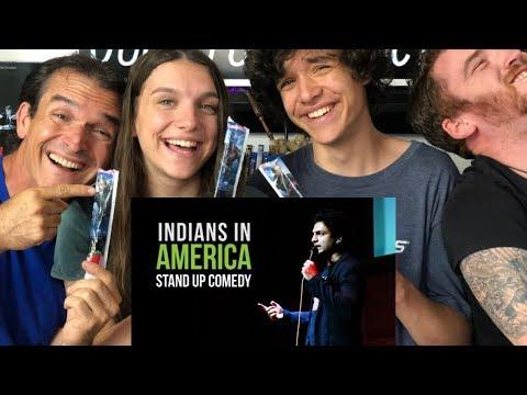 KENNY SEBASTIAN - BEING INDIAN IN AMERICA   REACTION!!