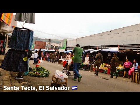 Walking the street market, Santa Tecla, El Salvador 🇸🇻