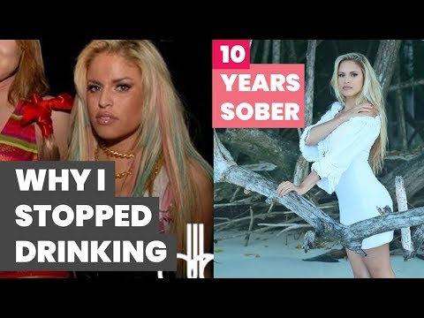 Why I Quit Drinking Alcohol   50lb Weight Loss   10 YEARS SOBER
