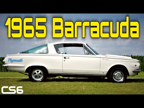 1965 Plymouth Barracuda - My First Real Life Car Feature!