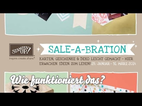 KATALOG - Sale A Bration Flyer erklärt