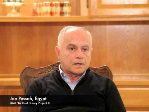Ben-Gurion Archives and JIMENA: Joe Pessah of Egypt