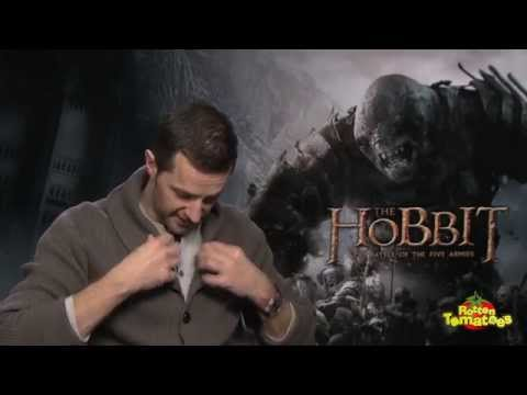 Hobbit: Battle of Five Armies Richard Armitage, Martin Freeman, & More Reveal Their Arkenstones