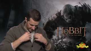 Hobbit: Battle of Five Armies Richard Armitage, Martin Freeman, & More Reveal Their Arkenstones Poster