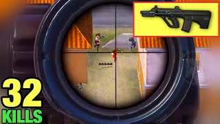 The Power of AUG + 6x Scope | PUBG MOBILE