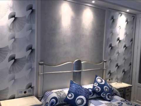 Como decorar un dormitorio en estuco veneciano y papel - Como decorar un dormitorio ...