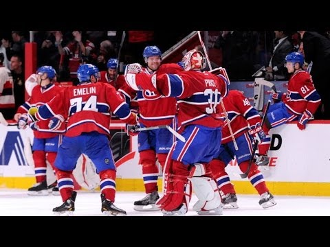 Canadiens net four goals in dramatic comeback