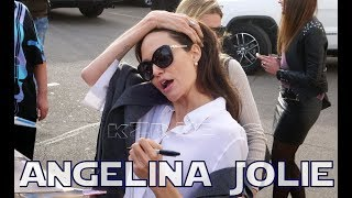 Angelina Jolie in Hollywood ©2018 KZR NEWS