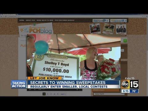 Secrets to winning sweepstakes