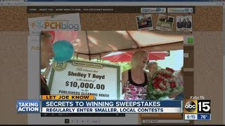 Secrets to winning sweepstakes