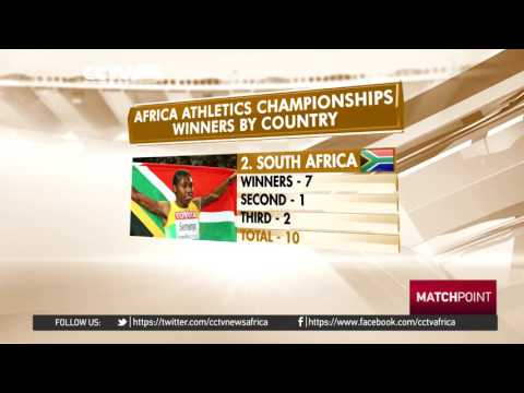 African Athletics Championship winners by Country
