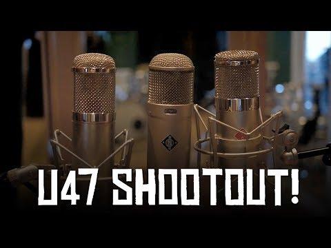 U47 Shootout | Neumann, Stam Audio, Peluso (HoboRec Bull Sessions #53)