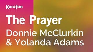 Karaoke The Prayer - Donnie McClurkin *