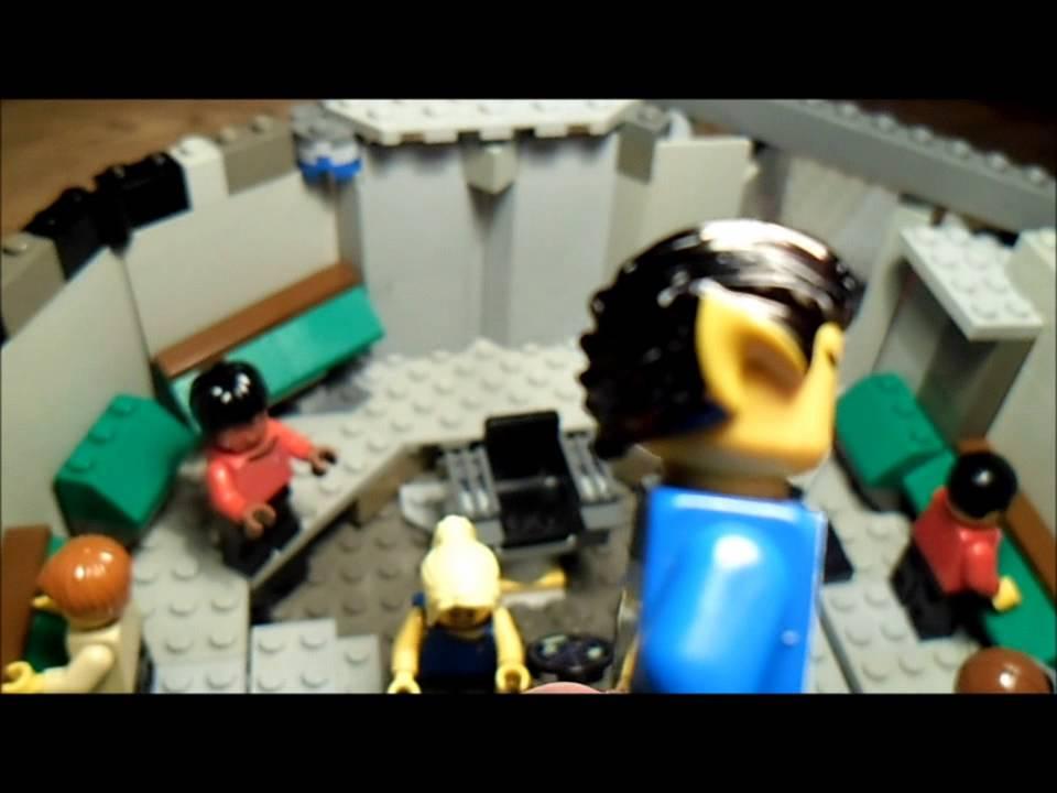 Custom Lego Star Trek Tos Enterprise Bridge Moc Youtube