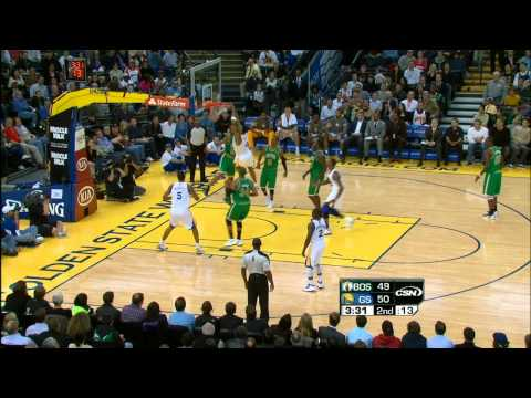 Brandon Rush`s Big Dunk