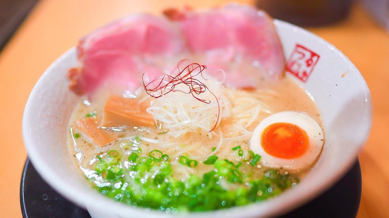 ラーメン激戦区の生き証人 無添鶏白湯 鶴武者 日本拉麺 Tsurumusha ramen is too delicious! Food in Japan, kyoto!