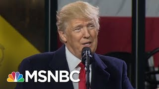 Donald Trump Ends First Year With Record Low Approval | The Beat With Ari Melber | MSNBC