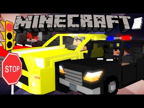 how to build a moving car in minecraft