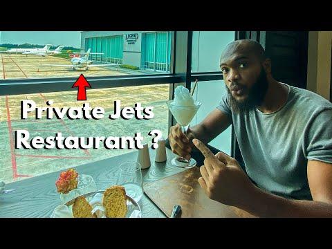 I Ate At A Secret Private Jet Restaurant In Lagos Nigeria