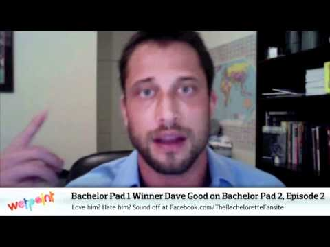 Bachelor Pad Winner Dave Good Talks Gias Stupid Departure - Bachelor pad season 1 winner