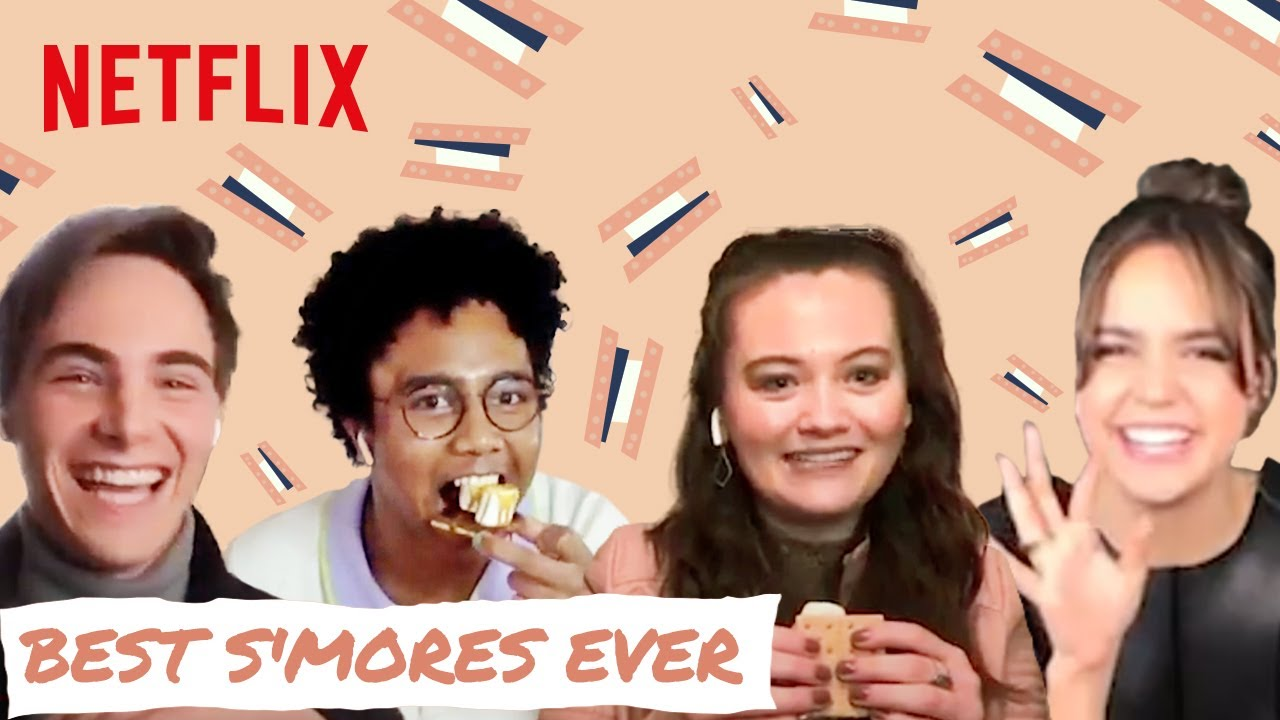 A Week Away Cast S'mores Challenge 🍫 Netflix Futures