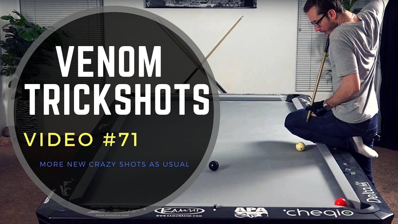 Venom Pool Trickshots #71 --- Amazing Billiards Tricks!!!