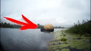 Обычное ТЕСТО подводная съемка реакция рыбы на тесто как в аквариуме проверка на рыбалке