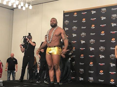 Bellator 192 Ceremonial Weigh-Ins - MMA Fighting