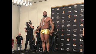 Bellator 192 Ceremonial Weigh-Ins - MMA Fighting