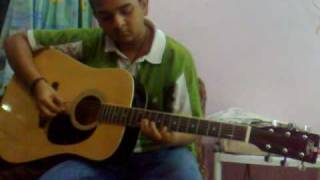TUM KO PAYA HAI TO on GUITAR by me ANUP