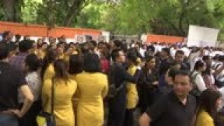 Jet Airways staff plead for government bail out