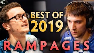2019 BEST RAMPAGES in pro Dota