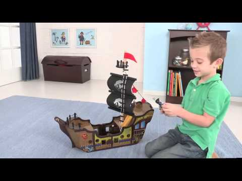 KidKraft Pirate Play Ship | 63262