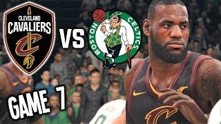 Cleveland Cavaliers vs Boston Celtics GAME 7 HYPE - NBA LIVE 18
