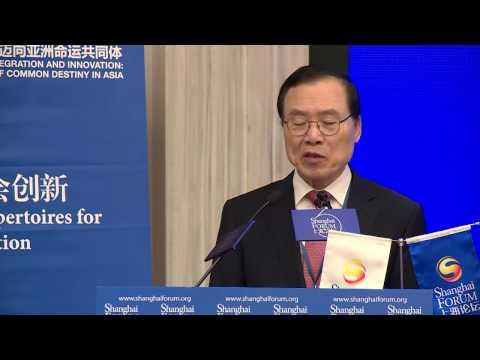 [2016 Shanghai Forum Roundtables] Ahn Choong-Yong