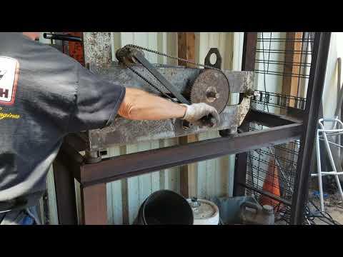 West Coast Muscle Saws Straighten Stihl 133 tube