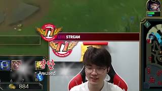 Faker is also good at math?! Faker is good at everything! [ Faker's Talk ]